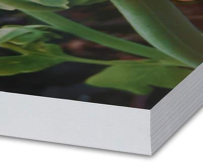 8K Echtfotobuch 20x20 Glanz 90 Seiten Schmuckcover Block