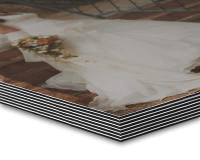 8K Studiobuch 20x20 Metallic/Schwarz 28 Seiten Schmuckcover Block
