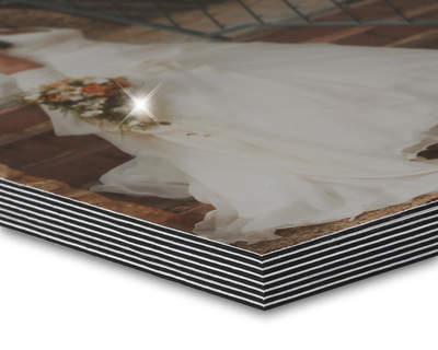 8K Studiobuch A4 quer Glanz/Schwarz 16 Seiten (wattiert)