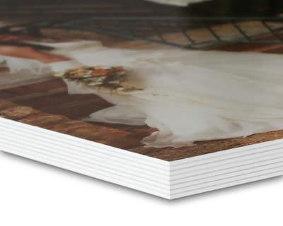 8K Studiobuch 27x27 Silk/Weiß 40 Seiten (wattiert)