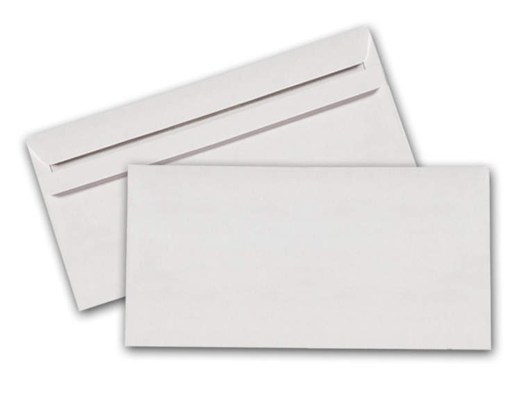 Briefumschlag Din Lang Weiß