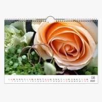 Kalender 30x20 Weiss