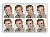 Fotosticker 8er Set 3x4cm Matt